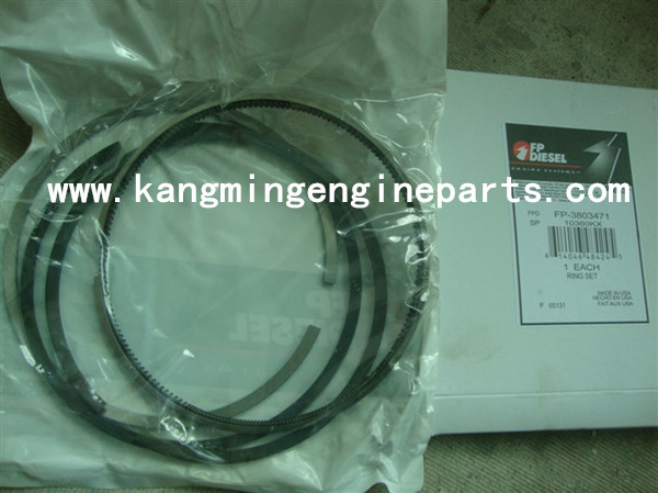 CCEC engine parts 3803471 set, piston ring NTA855