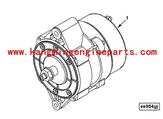 Hubei Engine Parts 4b3 9 Diesel Engine Alternator 3415351