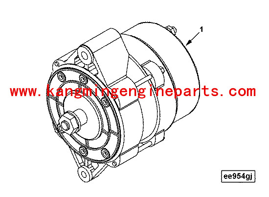 Genuine Engine Parts 6ctaa8 3 Diesel Engine Alternator 3415587