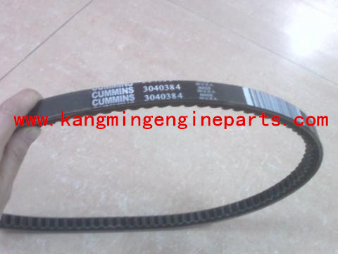 Original Chongqing NTA855 engine parts 3040384 belt, v