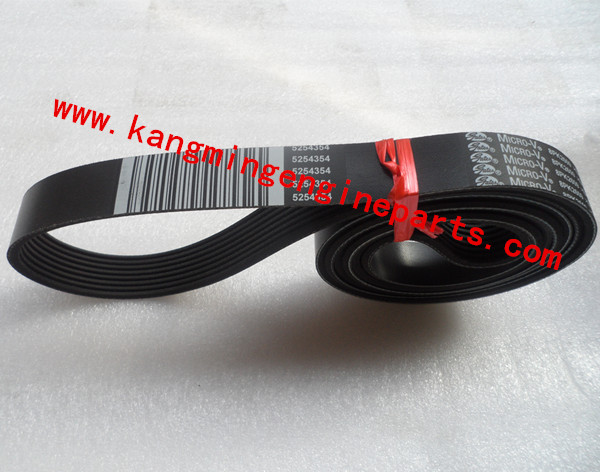 engine parts ISF2.8 rubber v belt 5254354
